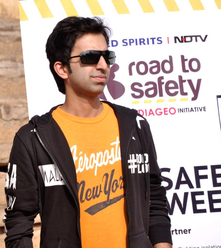 Ace Indian cueist Pankaj Advani at the USL-Diageo Road Safety progragramme organised in Bengaluru on Jan 11, 2017. - Pankaj Advani