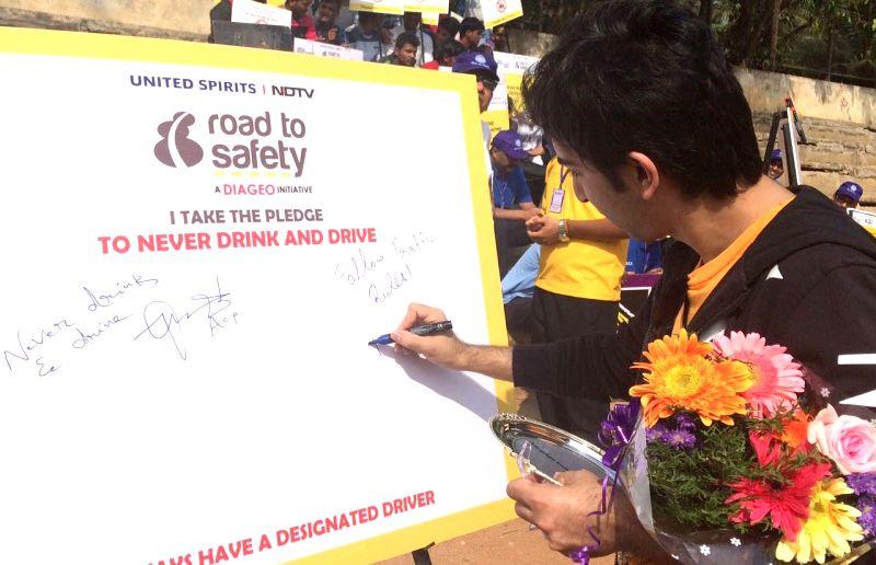 USL-Diageo Road Safety progragramme -  Pankaj Advani - Pankaj Advani