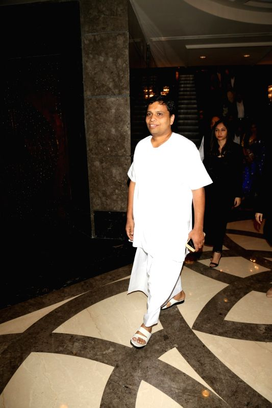 Acharya Balkrishna, of Patanjali during Indian of the Year 2017 award ceremony hosted by CNN News 18 in New Delhi, on Nov 30, 2017. Indian of the Year in Business award goes to Acharya ...