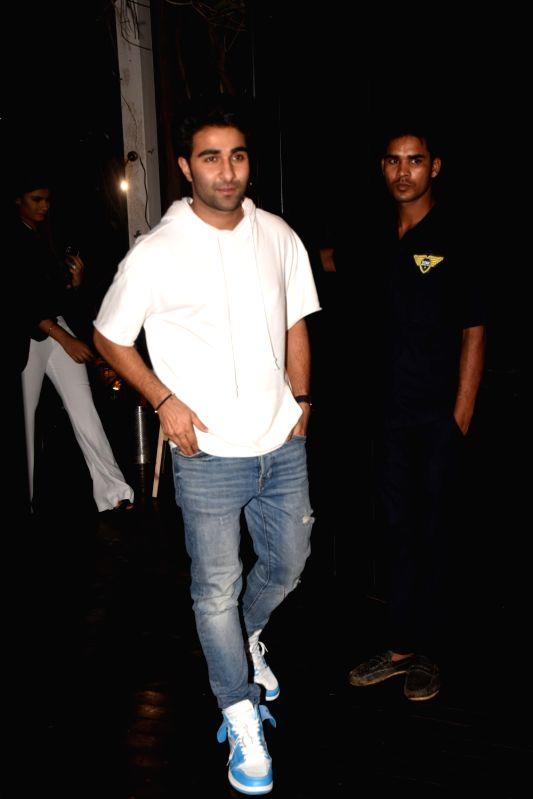 Actor Aadar Jain at actress Bhumi Pednekar birthday celebration in Mumbai on July 17, 2018. - Aadar Jain