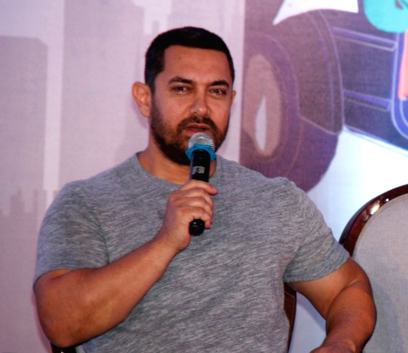 Actor Aamir Khan. (Image Source: IANS)