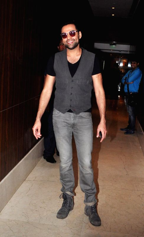Actor Abhay Deol during Channel V panel discussion on Juvenile Justice Act Bill before the launch of teen crime show Gumrah S4, in Mumbai, on Aug. 26, 2014. - Abhay Deol