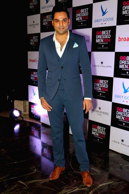 Actor Abhay Deol during GQ Best Dressed Men 2014 awards at Palladium Hotel in Mumbai. - Abhay Deol