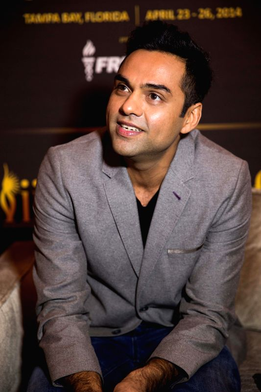 Actor Abhay Deol during the fourth and final day of the 15th International Indian Film Academy (IIFA) Awards 2014 at Raymond James Stadium in Tampa, Florida, United States of America. - Abhay Deol