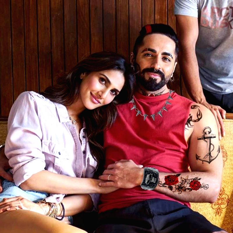 Actor Abhishek Bajaj, who made his Bollywood debut in Student Of The Year 2, will be seen in Chandigarh Kare Aashiqui, and he says he had a lot of fun working with lead actor Ayushmann Khurranna of the film.