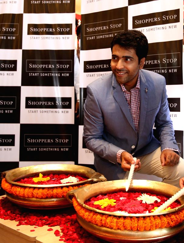 Actor Abir Chatterjee during the launch of a store in Kolkata on May 9, 2014.