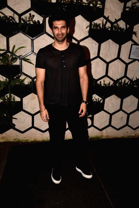 Actor Aditya Roy Kapur at the producer Dinesh Vijan birthday celebration in Mumbai on July 26, 2018. - Aditya Roy Kapur