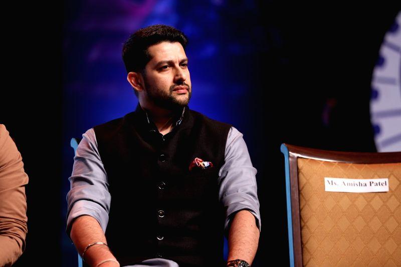 Actor Aftab Shivadasani during a programme in Mumbai on Jan 31, 2018. - Aftab Shivadasani
