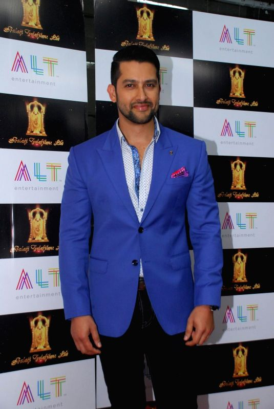 Actor Aftab Shivdasani during the launch of upcoming film Kya Kool Hain Hum 3 in Mumbai, on Dec 7, 2014. - Aftab Shivdasani