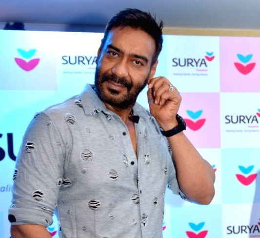 Actor Ajay Devgn (Image Source: Ravi Shankar Vyas/IANS)