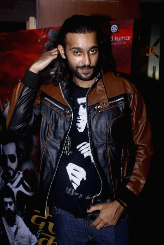 Actor Akhil Kapur during a programme organised to launch the trailer of upcoming film `Desi Kattey` in Mumbai. - Akhil Kapur