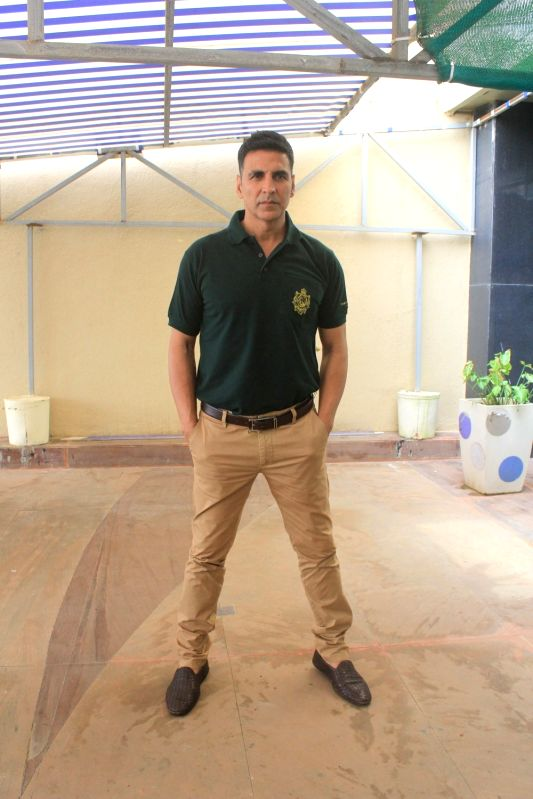 "Actor Akshay Kumar during the promotion of his upcoming film ""Gold"" in Mumbai on July 30, 2018. - Akshay Kumar"