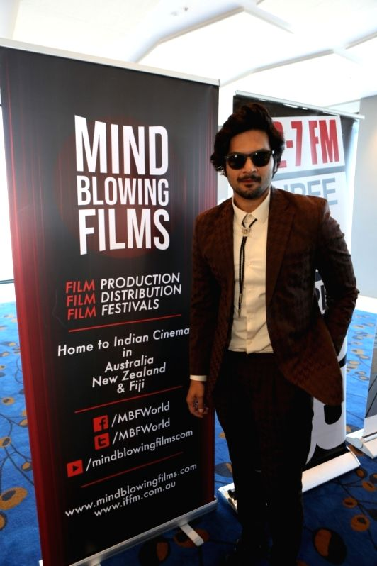 Actor Ali Fazal at the Indian Film Festival of Melbourne (IFFM) in Melbourne on Aug 10, 2018. - Ali Fazal