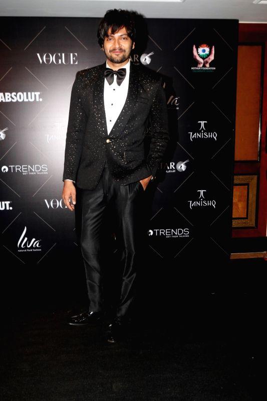 """Actor Ali Fazal at the red carpet of """"Vogue Beauty Awards"""" in Mumbai on July 31, 2018. - Ali Fazal"""