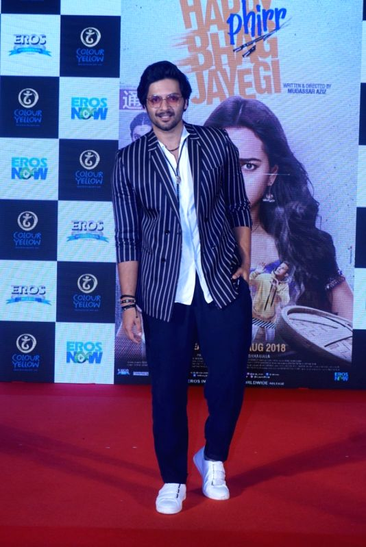 "Actor Ali Fazal at the trailer launch of his upcoming film ""Happy Phirr Bhag Jayegi""  in Mumbai on July 25, 2018. - Ali Fazal"