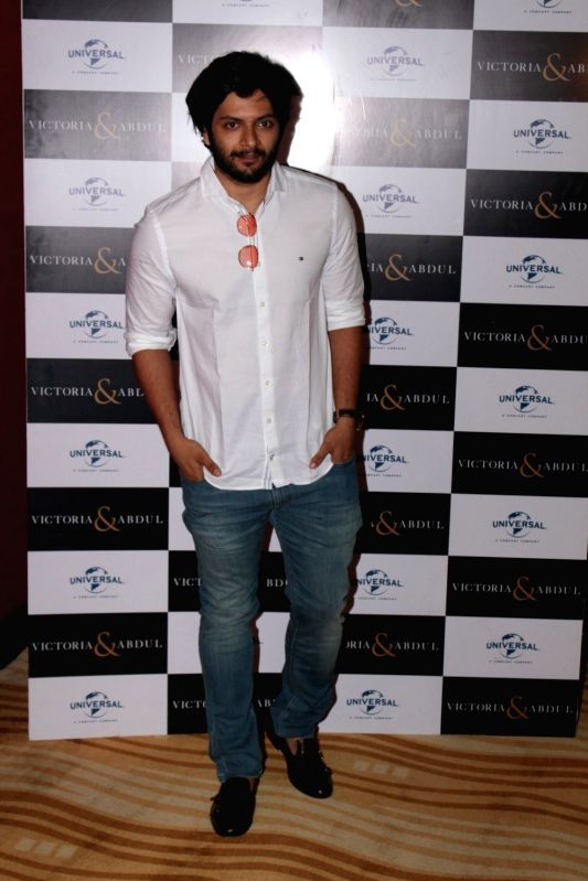 Actor Ali Fazal during the trailer launch of film Victoria and Abdul in Mumbai, on May 30, 2017. (Photo: IANS)i - Ali Fazal