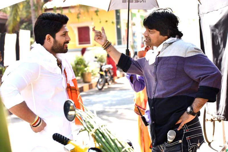 "Actor Allu Arjun during the shooting of his upcoming film ""Duvvada Jagannadham"". - Allu Arjun"