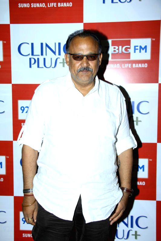Actor Alok Nath during the launch of Maa Ke Aanchal Mein - Radio Ki Pehli Picture by BIG FM & Clinic Plus in Mumbai on May 09, 2014. - Alok Nath