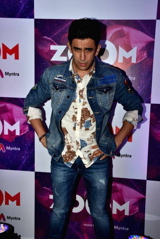"""Actor Amit Sadh at the launch of new logo - """"Zoom styled by Myntra"""" in Mumbai on April 19, 2018 . - Amit Sadh"""