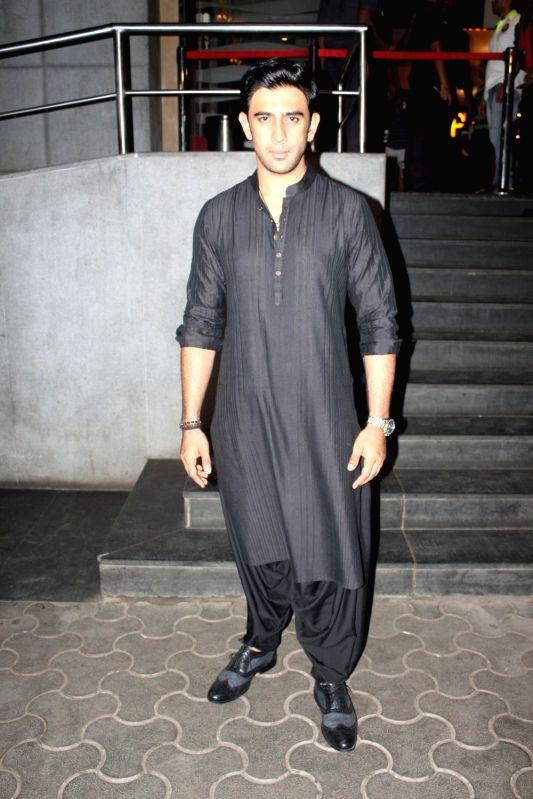 Actor Amit Sadh during the screening of film Sarkar 3 in Mumbai on May 11, 2017. - Amit Sadh