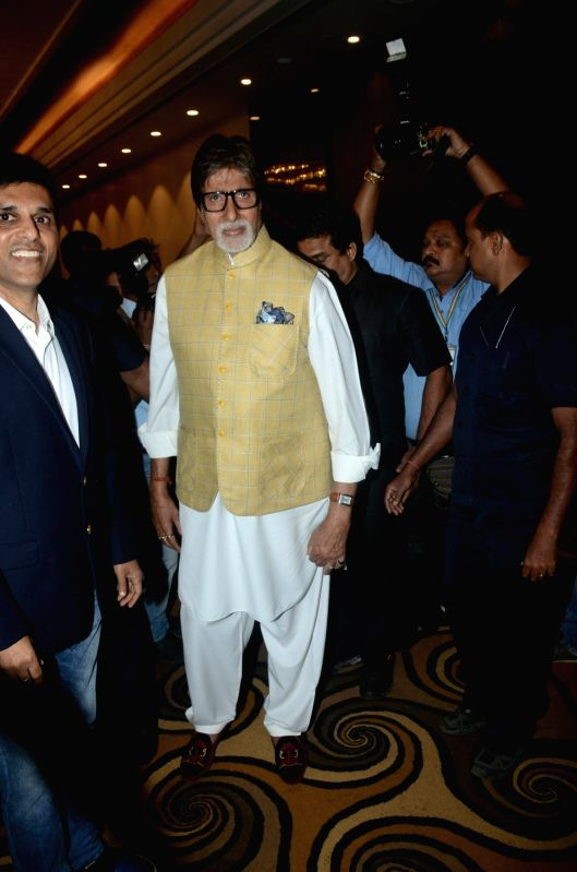 Actor Amitabh Bachchan at a charity programme in Mumbai on Jan 28, 2018. - Amitabh Bachchan