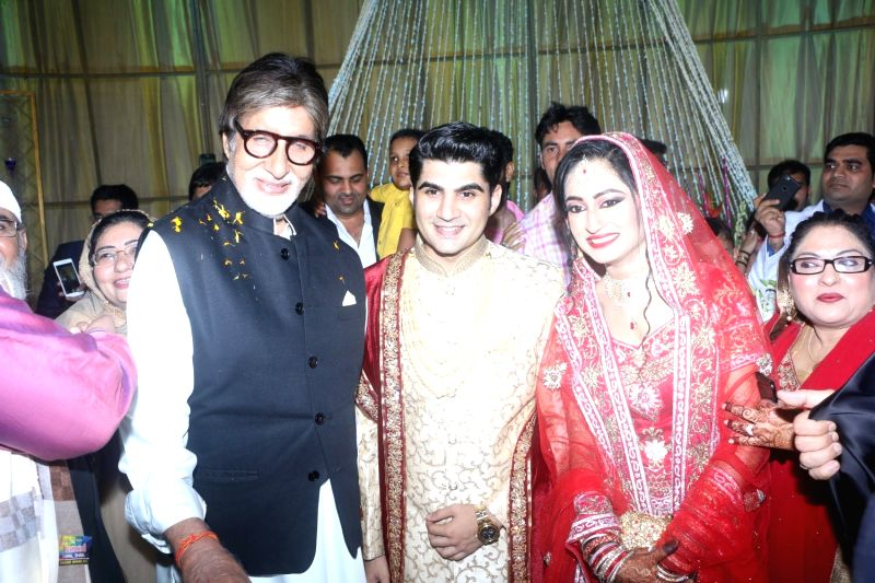 Ali Khan's daughter wedding reception - Amitabh Bachchan - Amitabh Bachchan and Khan