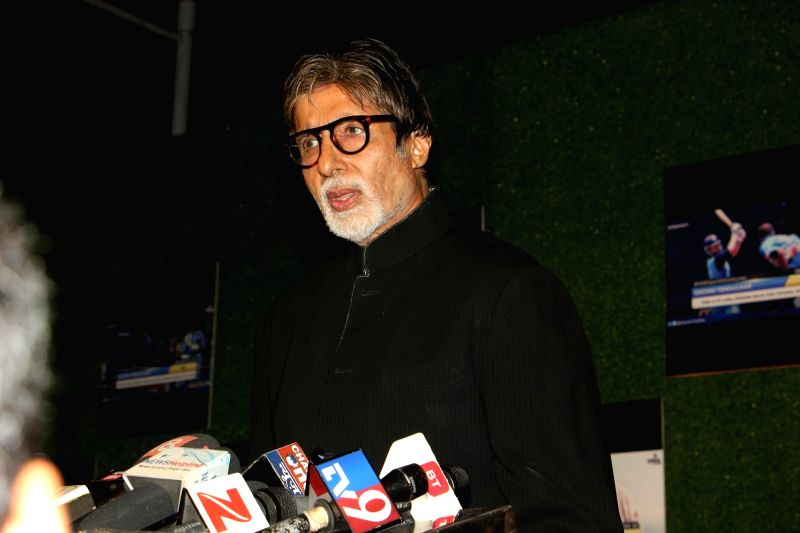 Actor Amitabh Bachchan during the premiere of film Sachin: A Billion Dreams in Mumbai, on May 24, 2017. - Amitabh Bachchan