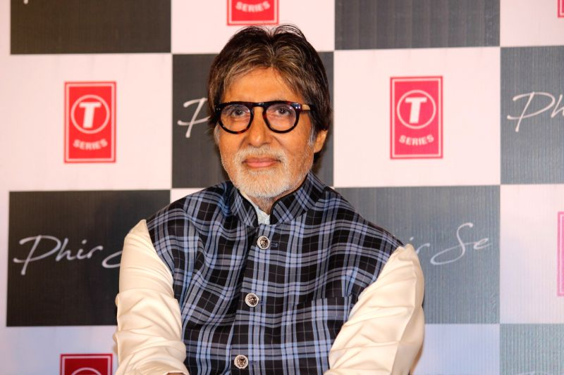 Launch of song Phir Se - Amitabh Bachchan