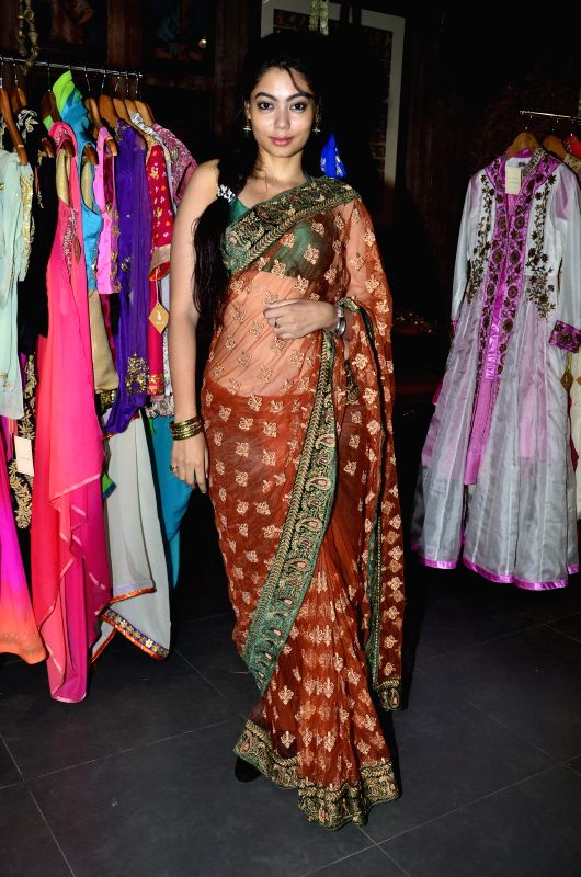 Actor Anangsha Biswas during the launch of store Grand Trunk Show in Mumbai, on April 18, 2014. - Anangsha Biswas