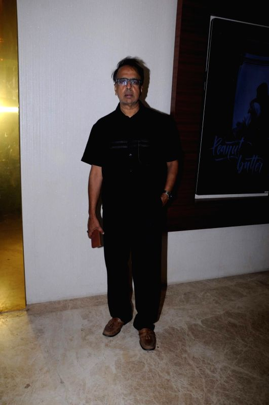 Actor and filmmaker Anant Mahadevan during the screening of film Peanut Butter in Mumbai on March 6, 2017.