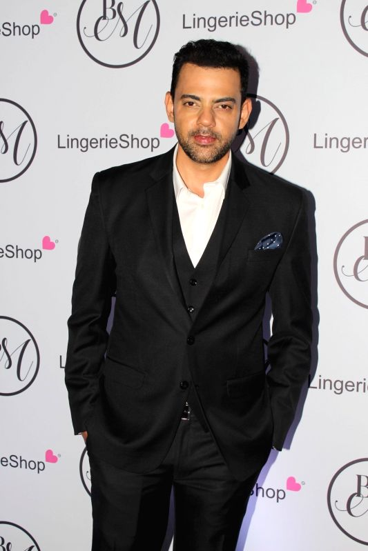 Actor and VJ Cyrus Sahukar during the launch of brand Lingerie Shop in Mumbai on May 19, 2017.
