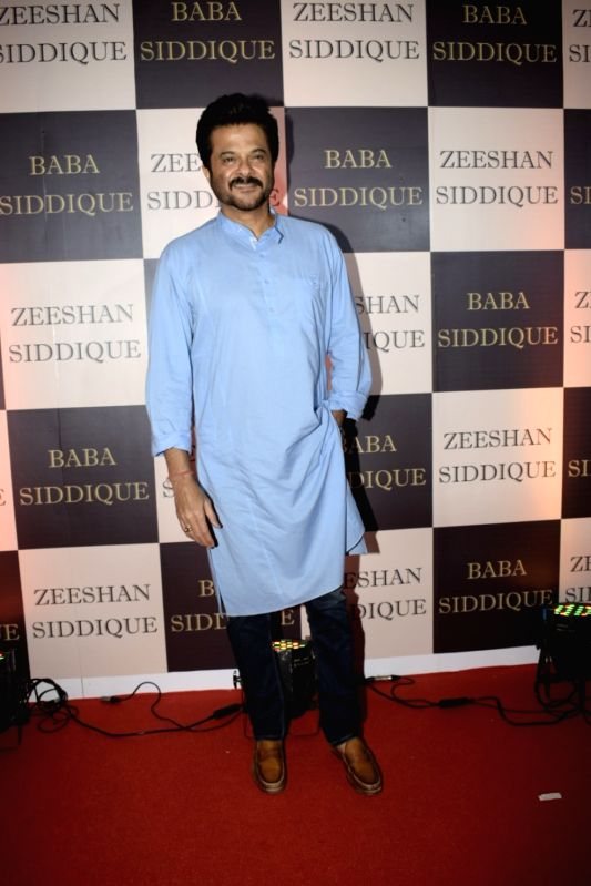 Actor Anil Kapoor at politician Baba Siddique's iftar party in Mumbai on June 10, 2018. - Anil Kapoor