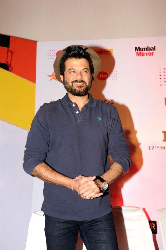 Actor Anil Kapoor at the 2nd day of Jio MAMI 17th Mumbai Film Festival in Mumbai on Oct 31, 2015. - Anil Kapoor
