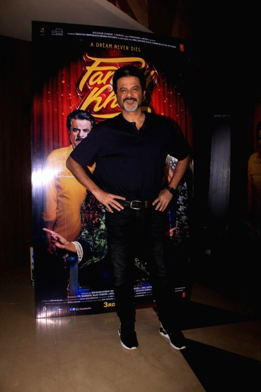 """Actor Anil Kapoor at the special screening of his upcoming film """"Fanney Khan"""" in Mumbai on July 31, 2018. - Anil Kapoor and Fanney Khan"""