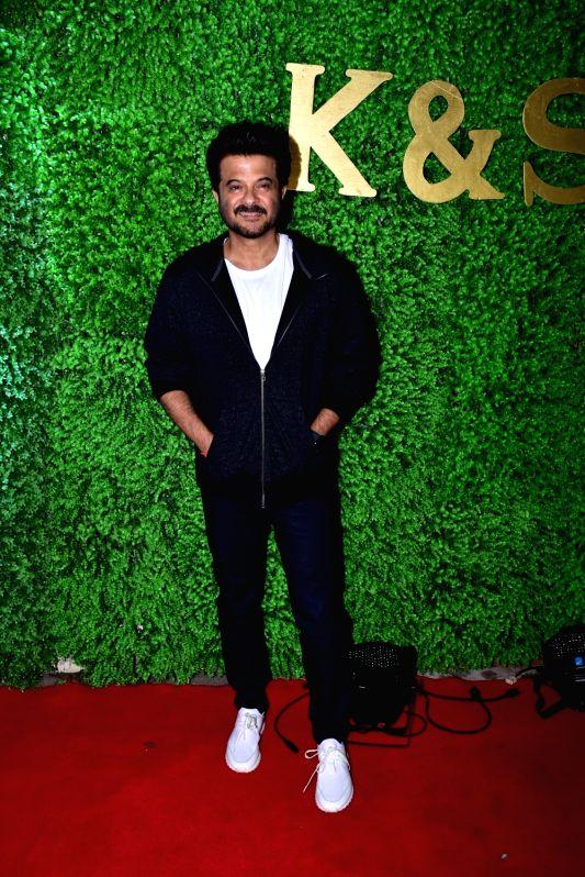 Actor Anil Kapoor at the wedding reception of lyricist Sameer Anjaan's daughter Suchita in Mumbai, on Jan 22, 2019. - Anil Kapoor