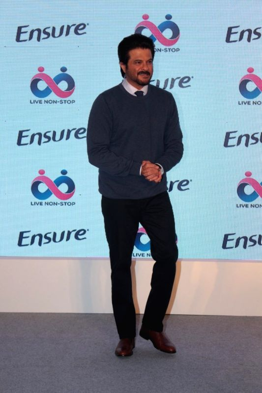 Actor Anil Kapoor during a programme in Mumbai on April 25, 2017. - Anil Kapoor