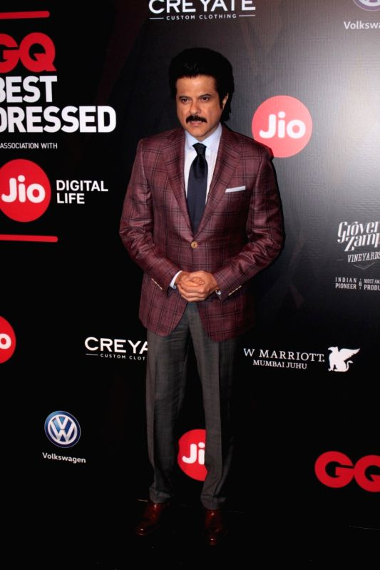 Actor Anil Kapoor during the GQ Best Dressed 2017 in Mumbai, on June 3, 2017. - Anil Kapoor