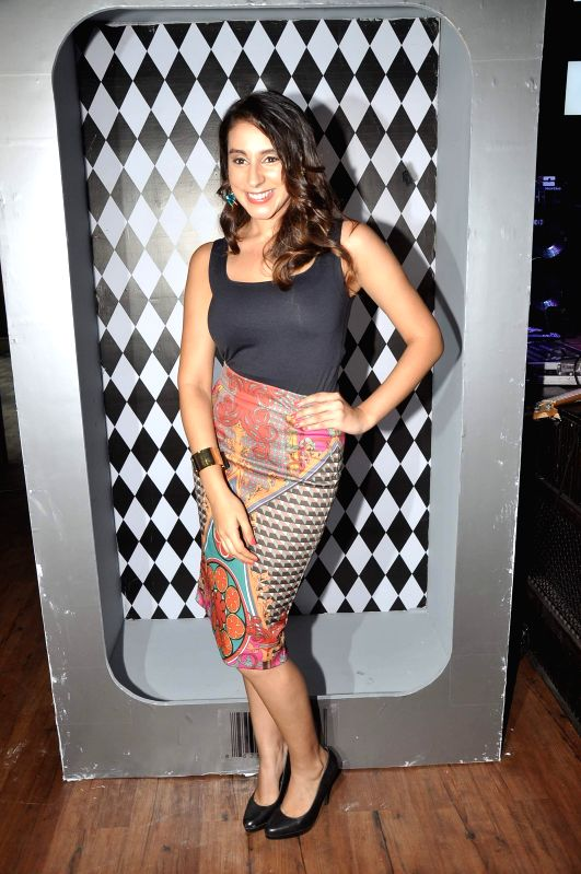 Actor Anindita Nayar during the music launch of film Amit Sahni Ki List in Mumbai on June 18, 2014. - Anindita Nayar