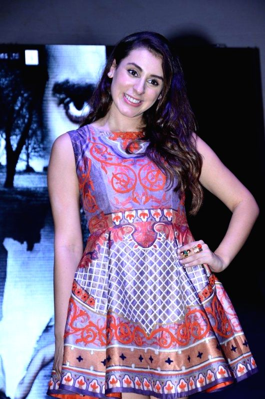 Actor Anindita Roy during the trailer launch of film 3 AM at Poddar College in Mumbai, on August 8, 2014. - Anindita Roy