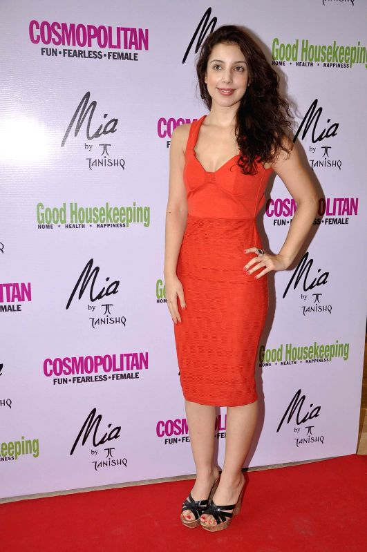 Actor Anisa during the launch of Mia jewellery in association with Good House Keeping and Cosmo in Mumbai on June 28, 2014. - Anisa