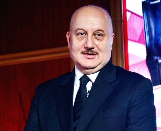 Actor Anupam Kher. (Image Source: IANS)