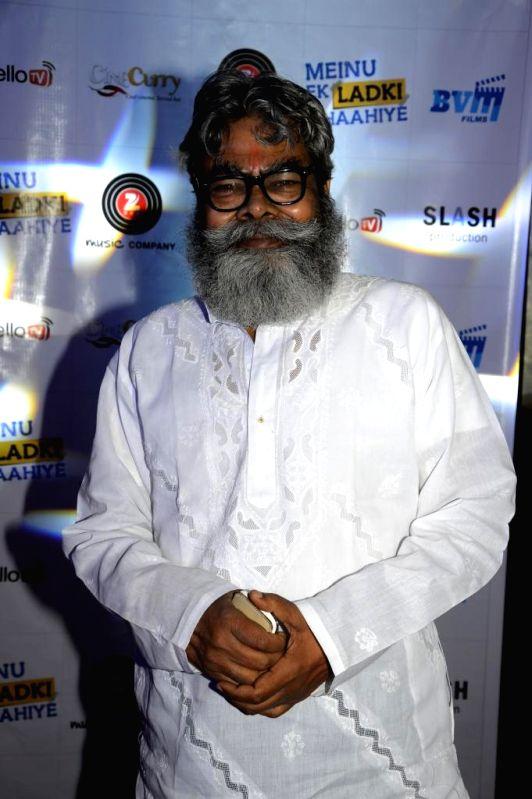 Actor Anupam Shyam during the music launch of film Mainu Ek Ladki Chahiye in Mumbai on Aug 11, 2014. - Anupam Shyam