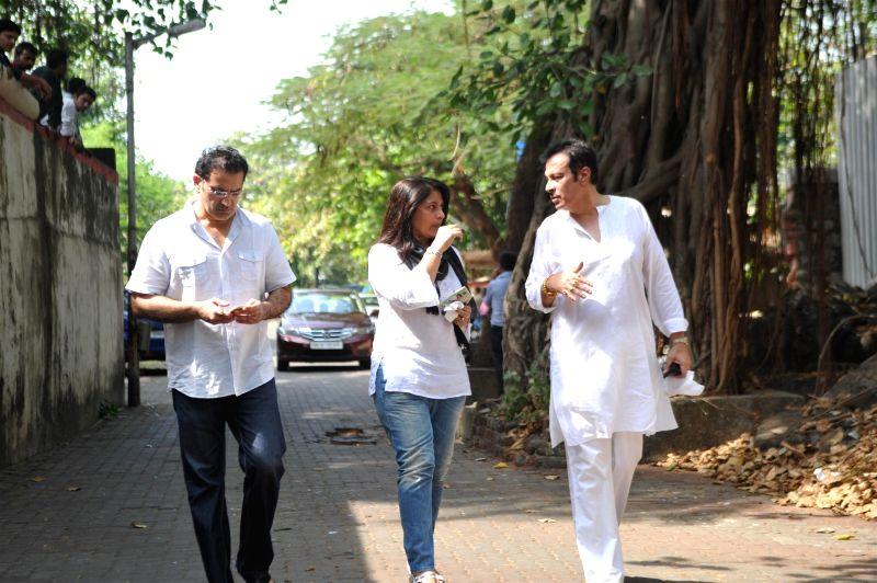 ... ravi chopra actor archana puran singh with her husband parmeet sethi