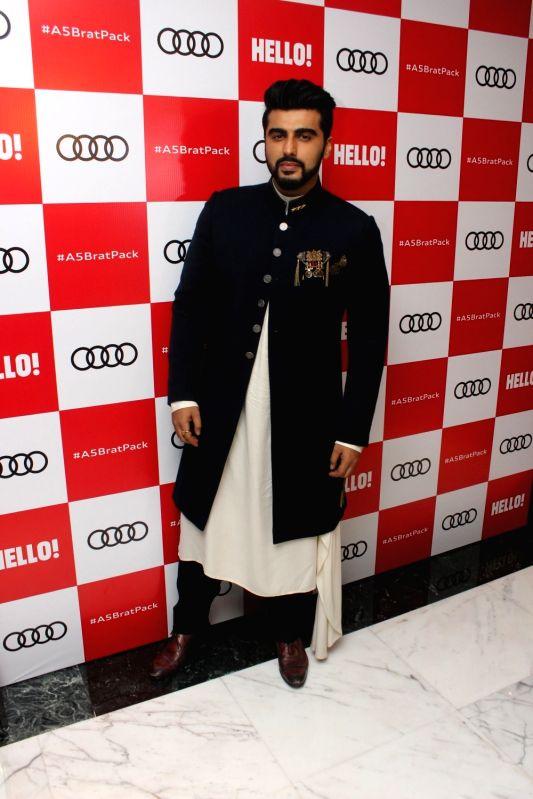 """Actor Arjun Kapoor at red carpet of """"Luxury & Fashion As Hello! & Audi"""" in Mumbai on Oct 5, 2017. - Arjun Kapoor"""