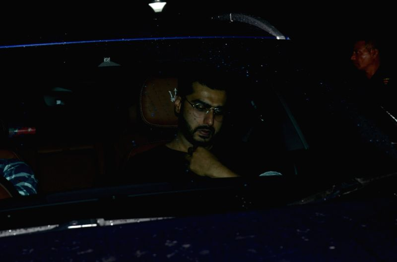 "Actor Arjun Kapoor at the special screening of upcoming film ""Dhadak"" in Mumbai on July 18, 2018. - Arjun Kapoor"