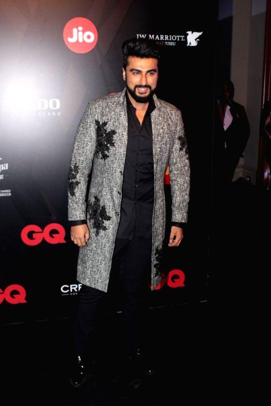 Actor Arjun Kapoor during the GQ Best Dressed 2017 in Mumbai, on June 3, 2017. - Arjun Kapoor