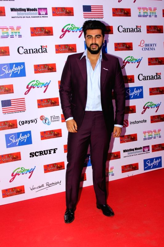 Actor Arjun Kapoor during the Kashish Mumbai International Queer Flim Festival 2017. - Arjun Kapoor