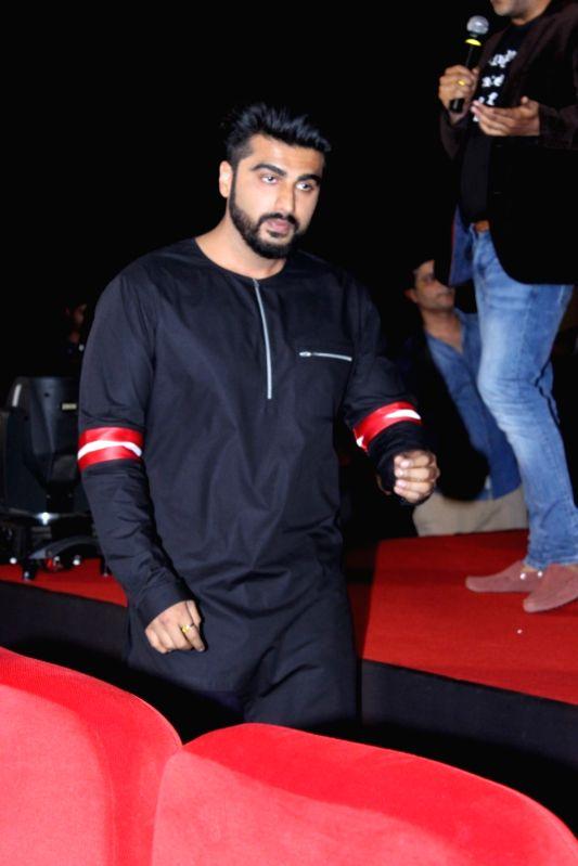 Actor Arjun Kapoor during the trailer launch of film Half Girlfriend in Mumbai on April 10, 2017. - Arjun Kapoor