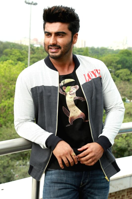 Actor Arjun Kapoor. (Photo: Amlan Paliwal/IANS)