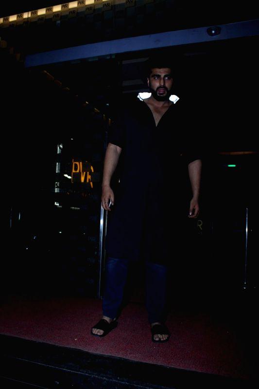 Actor Arjun Kapoor spotted for film Half Girlfriend at PVR in Mumbai on May 15, 2017. - Arjun Kapoor